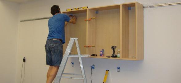 Как снять навесной шкаф на кухне: Как снять верхние шкафы кухни? —